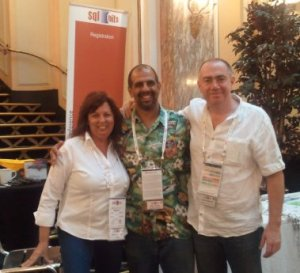 Karla Landrum, Tony Rogerson and me