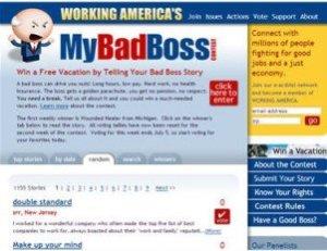 Bad Boss Contest