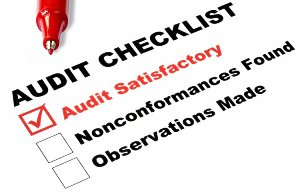 Good procedures built into your processes should make passing an audit very easy.