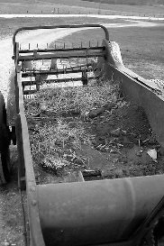 Life can be like a manure spreader.
