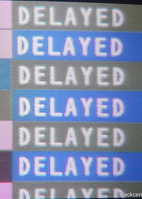 I'm hoping this isn't the flight board when I travel tomorrow.