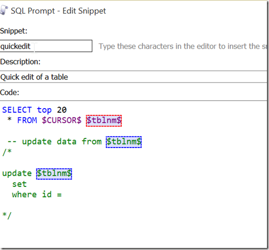 2015-09-09 15_01_15-SQL Prompt - Edit Snippet