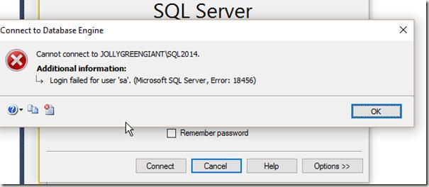 2016-03-28 17_39_02-SQLQuery1.sql - JOLLYGREENGIANT_SQL2014.master (sa (51)) - Microsoft SQL Server