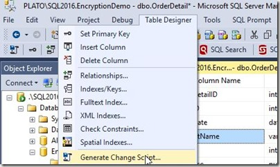 2016-06-27 09_37_52-PLATO_SQL2016.EncryptionDemo - dbo.OrderDetail_ - Microsoft SQL Server Managemen