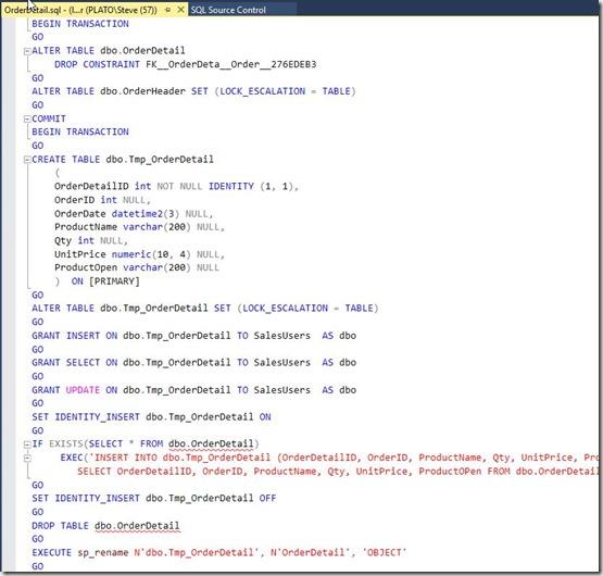 2016-06-27 09_41_29-OrderDetail.sql - (local)_SQL2016.master (PLATO_Steve (57)) - Microsoft SQL Serv