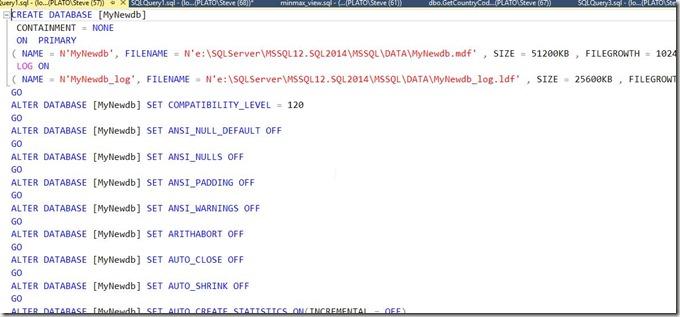 2016-09-23 09_48_33-SQLQuery1.sql - (local)_SQL2014.Sandbox (PLATO_Steve (57)) - Microsoft SQL Serve