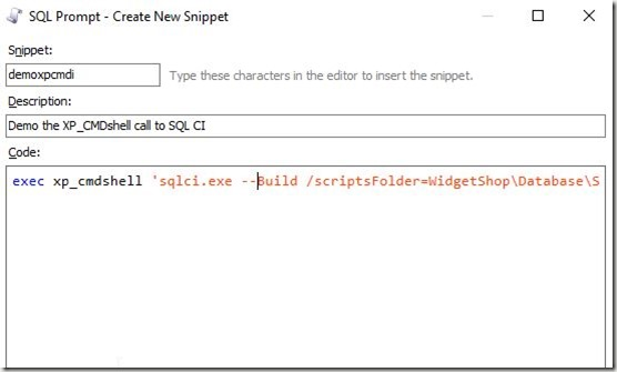 2016-09-23 10_35_15-SQL Prompt - Create New Snippet