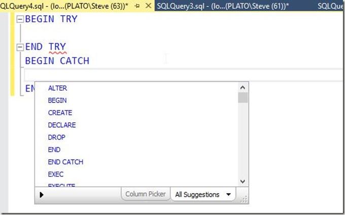 2016-09-23 12_13_39-SQLQuery4.sql - (local)_SQL2014.Sandbox (PLATO_Steve (63))_ - Microsoft SQL Serv