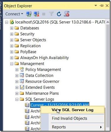2016-11-15 15_12_28-SQLQuery1.sql - localhost_SQL2016.sandbox (PLATO_Steve (65)) - Microsoft SQL Ser