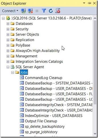 2016-11-22 09_11_09-SQLQuery1.sql - localhost_SQL2016.DBAAdmin (PLATO_Steve (66))_ - Microsoft SQL S