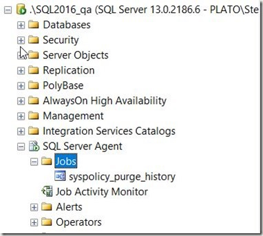 2016-11-22 09_11_25-SQLQuery1.sql - localhost_SQL2016.DBAAdmin (PLATO_Steve (66))_ - Microsoft SQL S
