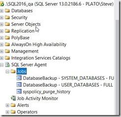 2016-11-22 10_09_21-SQLQuery1.sql - localhost_SQL2016.DBAAdmin (PLATO_Steve (66))_ - Microsoft SQL S