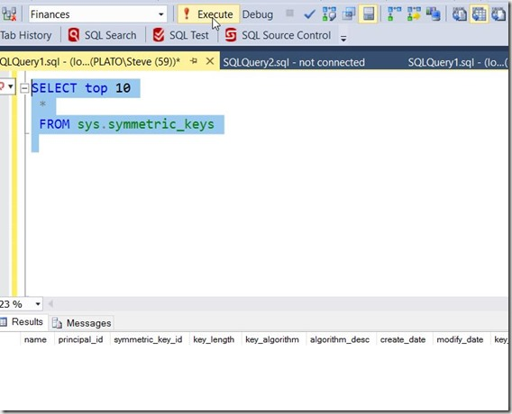 2017-01-11 12_22_34-SQLQuery1.sql - (local)_SQL2014.Finances (PLATO_Steve (59))_ - Microsoft SQL Ser