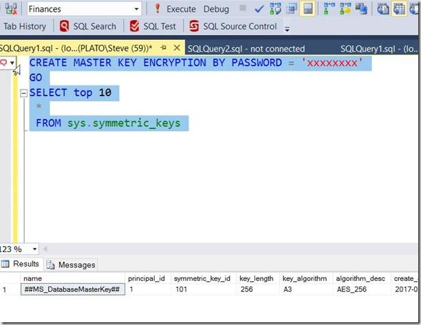 2017-01-11 12_23_14-SQLQuery1.sql - (local)_SQL2014.Finances (PLATO_Steve (59))_ - Microsoft SQL Ser