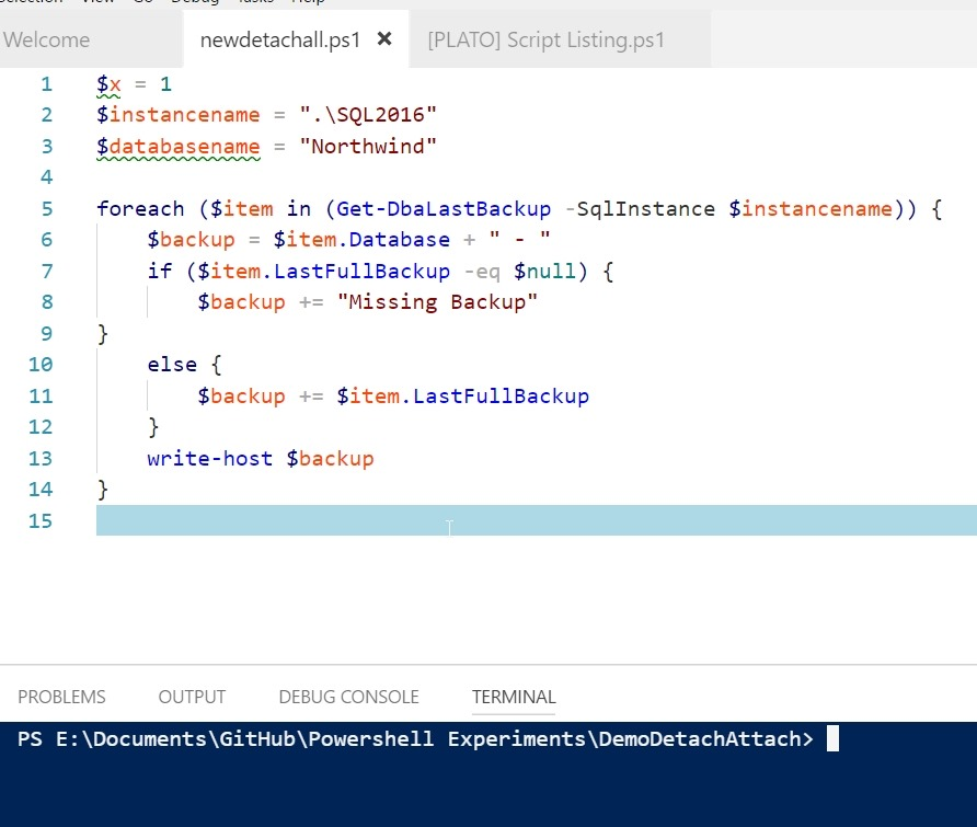 Experimenting with VSCode instead of the ISE   Voice of the DBA
