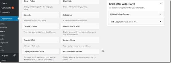 2017-09-22 17_38_33-Widgets ‹ Voice of the DBA — WordPress