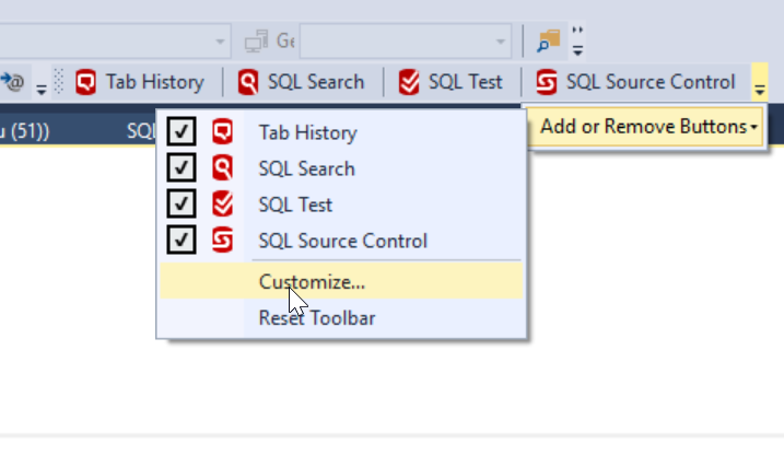 adding a format sql button to the redgate toolbar voice of the dba
