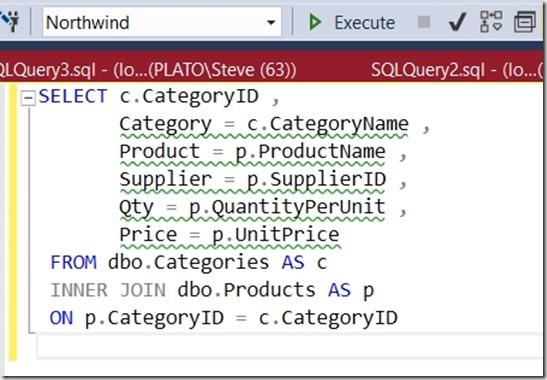 2018-01-29 13_14_03-SQLQuery1.sql - (local)_SQL2016.Northwind (PLATO_Steve (66))_ - Microsoft SQL Se