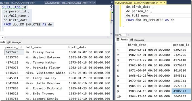 2018-05-02 15_37_52-SQLQuery10.sql - (local)_SQL2016.DataMaskerDemo (PLATO_Steve (66))_ - Microsoft