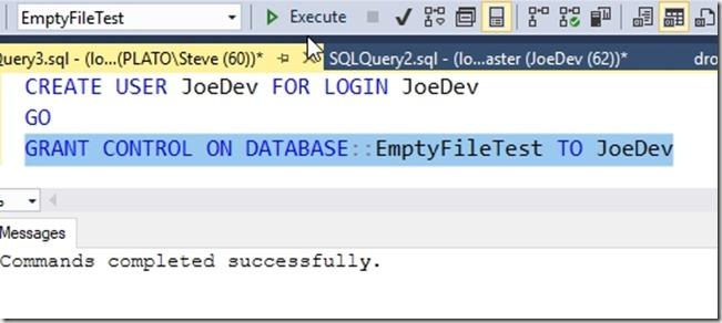 2018-07-03 11_27_29-SQLQuery3.sql - (local)_SQL2016.EmptyFileTest (PLATO_Steve (60))_ - Microsoft SQ