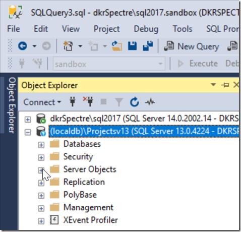 2018-09-18 20_22_48-SQLQuery3.sql - dkrSpectre_sql2017.sandbox (DKRSPECTRE_way0u (69))_ - Microsoft
