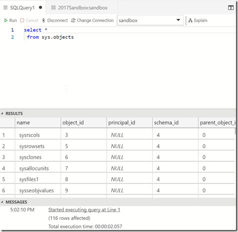 2018-10-19 17_02_15-● SQLQuery1 - Azure Data Studio