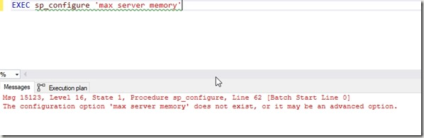 2018-11-02 14_51_00-SQLQuery3.sql - Plato_SQL2019.master (PLATO_Steve (57))_ - Microsoft SQL Server