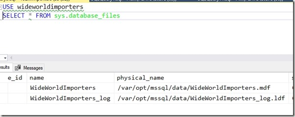 2019-01-16 18_35_22-SQLQuery3.sql - 192.168.1.43.WideWorldImporters (sa (52))_ - Microsoft SQL Serve