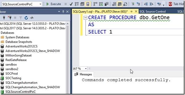 2019-03-14 10_31_58-SQLQuery1.sql - Plato_SQL2017.SQLSourceControlPoC (PLATO_Steve (60))_ - Microsof