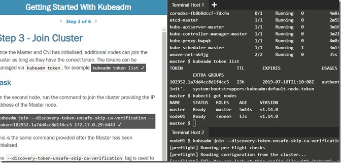 2019-07-09 15_16_26-Getting Started With Kubeadm _ Kubernetes _ Katacoda