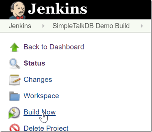 2019-07-27 19_05_12-SimpleTalkDB Demo Build [Jenkins]