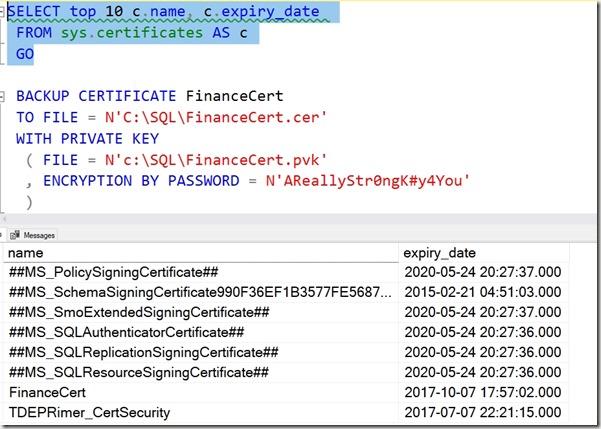 2019-08-23 14_35_57-SQLQuery1.sql - Plato_SQL2014.MASTER (PLATO_Steve (57))_ - Microsoft SQL Server