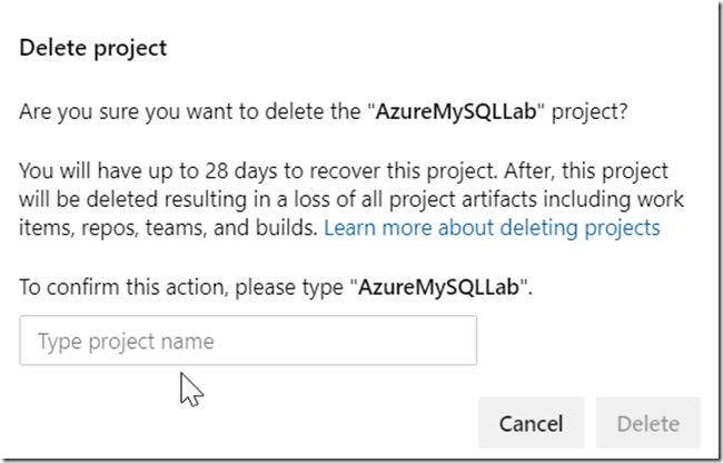 2019-09-02 14_35_52-Settings · Overview (AzureMySQLLab) - Settings