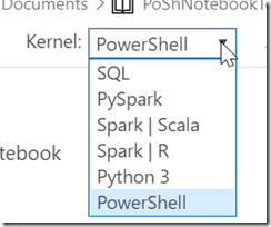 2019-11-05 15_32_11-● PoShNotebookTest.ipynb - Azure Data Studio