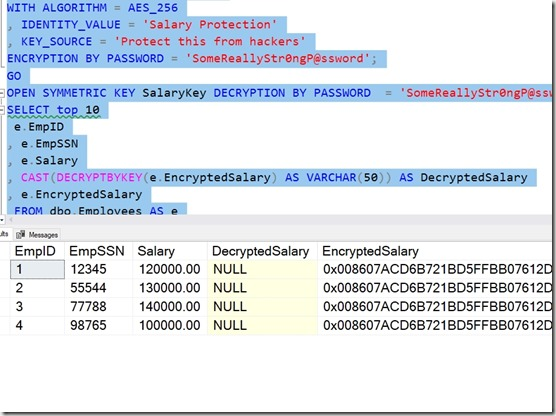 2019-12-05 12_15_24-SQLQuery1.sql - Plato_SQL2017.sandbox (PLATO_Steve (54))_ - Microsoft SQL Server