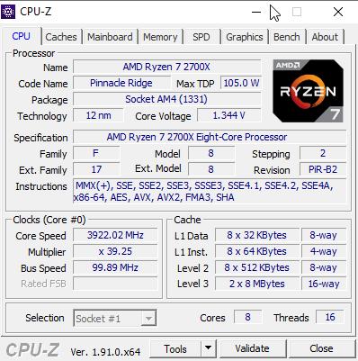 New desktop CPUZ