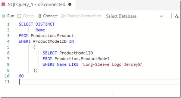 Reformatted code