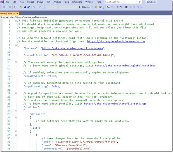 2020-05-19 14_07_09-settings.json - Microsoft Visual Studio