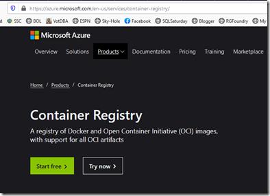 2020-07-07 15_22_22-Azure Container Registry _ Microsoft Azure