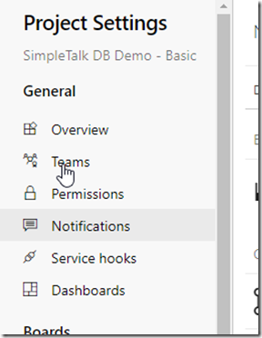 2020-07-09 15_20_03-Settings · Notifications (SimpleTalk DB Demo - Basic) - Settings