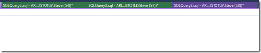 2020-07-11 10_47_19-SQLQuery6.sql - ARISTOTLE_SQL2017.SimpleTalk_1_Dev (ARISTOTLE_Steve (60)) - Micr