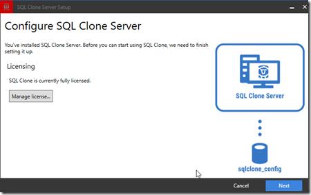 2020-07-30 16_25_57-SQL Clone Server Setup