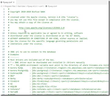2020-08-06 10_35_55-flyway.conf - Visual Studio Code