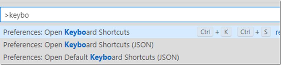 2020-09-11 14_44_14-Keyboard Shortcuts - Data Analysis - Azure Data Studio
