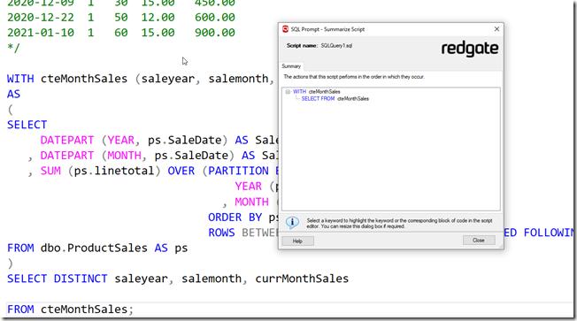 2021-03-12 08_16_26-SQLQuery1.sql - ARISTOTLE.sandbox (ARISTOTLE_Steve (61)) - Microsoft SQL Server