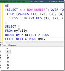 2021-04-19 13_59_40-SQLQuery5.sql - ARISTOTLE.DMDemo_5_Prod (ARISTOTLE_Steve (61))_ - Microsoft SQL