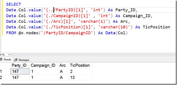 2021-05-03 11_15_57-SQLQuery1.sql - ARISTOTLE.sandbox (ARISTOTLE_Steve (59))_ - Microsoft SQL Server