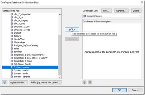 2021-07-12 08_36_49-Configure Database Distribution Lists