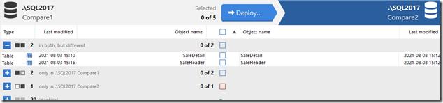 2021-08-03 15_19_51-SQL Compare - E__Documents_SQL Compare_SharedProjects_(local)_SQL2017.SimpleTalk