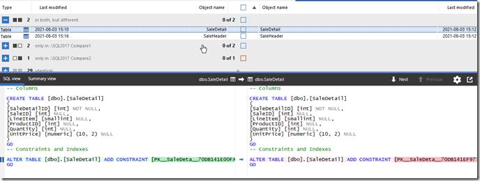 2021-08-03 15_21_32-SQL Compare - E__Documents_SQL Compare_SharedProjects_(local)_SQL2017.SimpleTalk